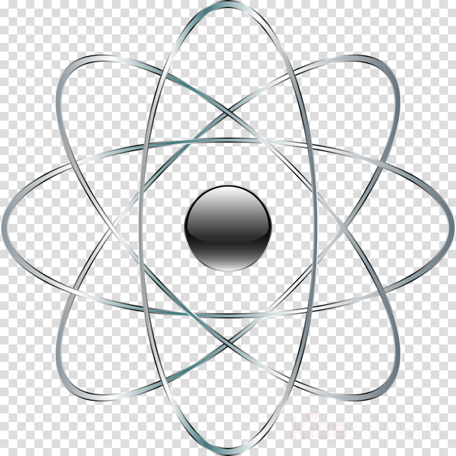 Chemistry transparent png . Atom clipart clear background