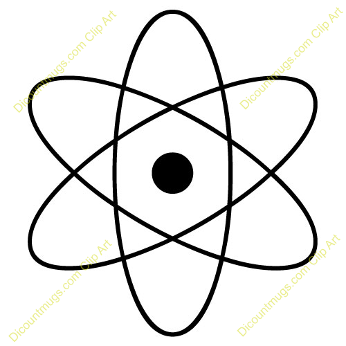 This isotope panda free. Atom clipart clip art