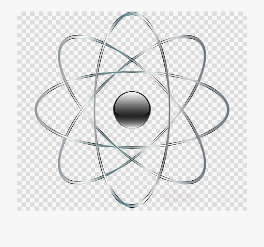 Atom clipart clip art. Chemistry transparent background png