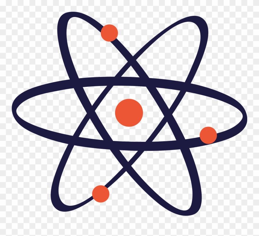 Symbol transprent png free. Atom clipart clip art