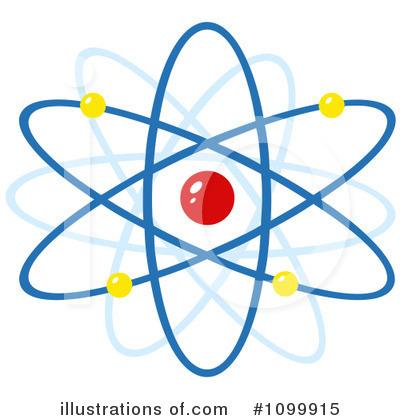 Atom clipart clip art. Illustration by hit toon