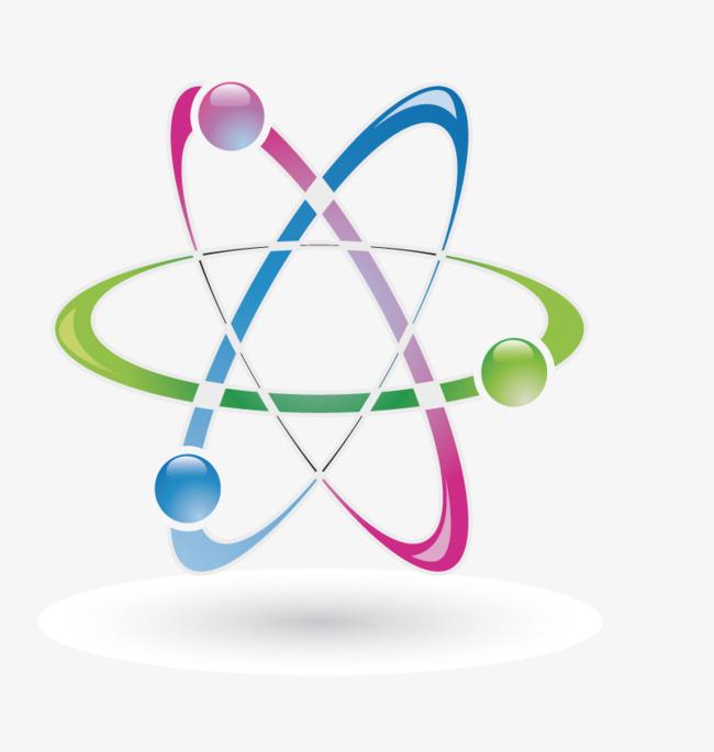 Atom clipart colorful. Atoms png vectors psd
