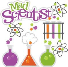 Mad scientist svg science. Atom clipart cute