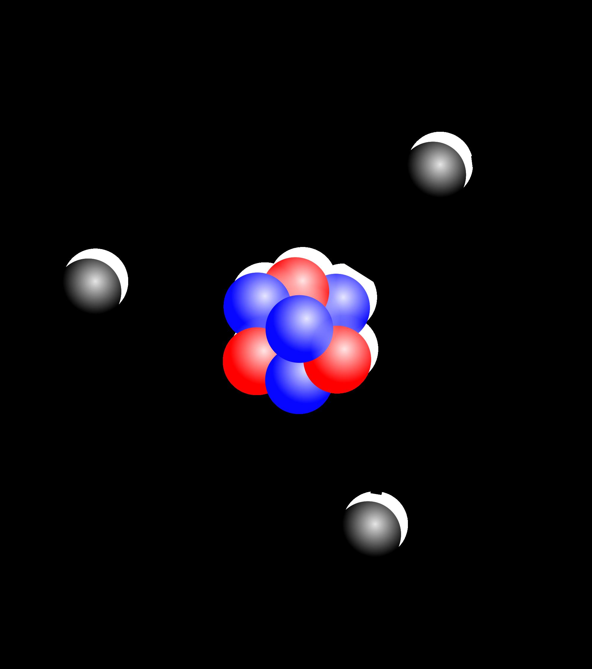 energy clipart atom model