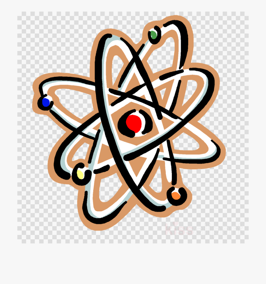 Atom clipart electron. Physical science clip art