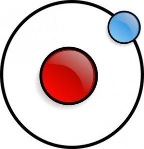 Mcol nucleus clip arts. Atom clipart electron