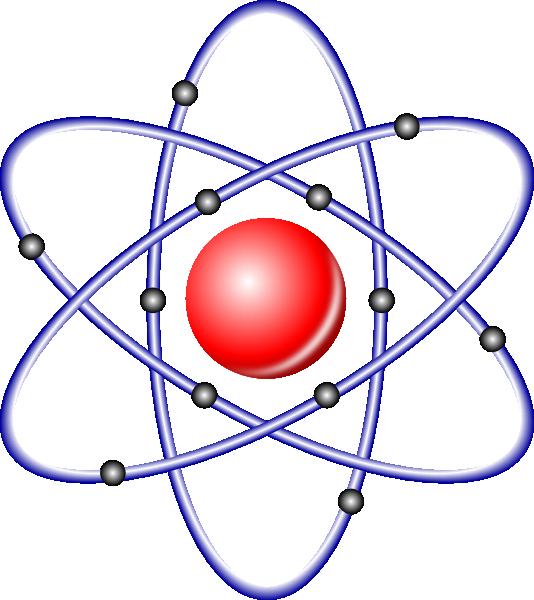 Atom clipart electron. Nucleus electrons clip art
