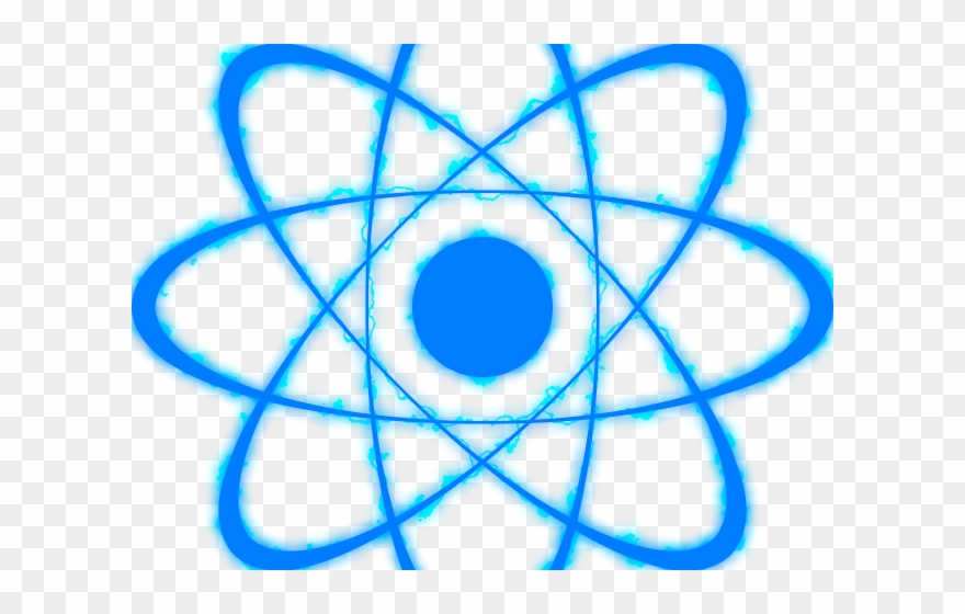 Chemistry transparent . Atom clipart energy