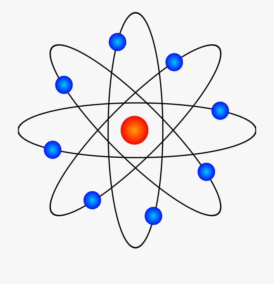 Chemistry model png free. Atom clipart energy