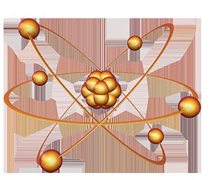 Atom clipart energy. Nuclear facts science trek