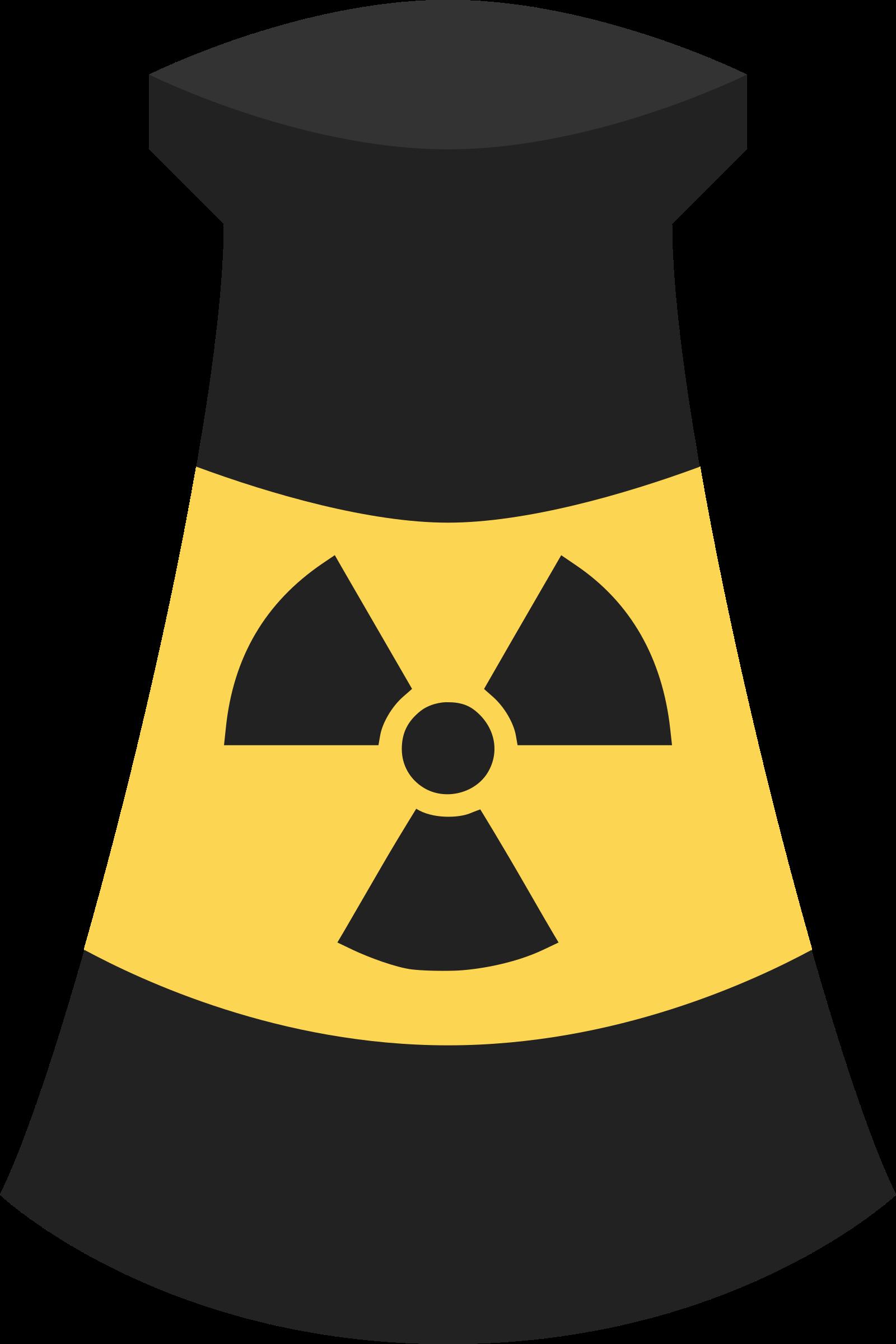 Atomic plant symbol big. Atom clipart energy