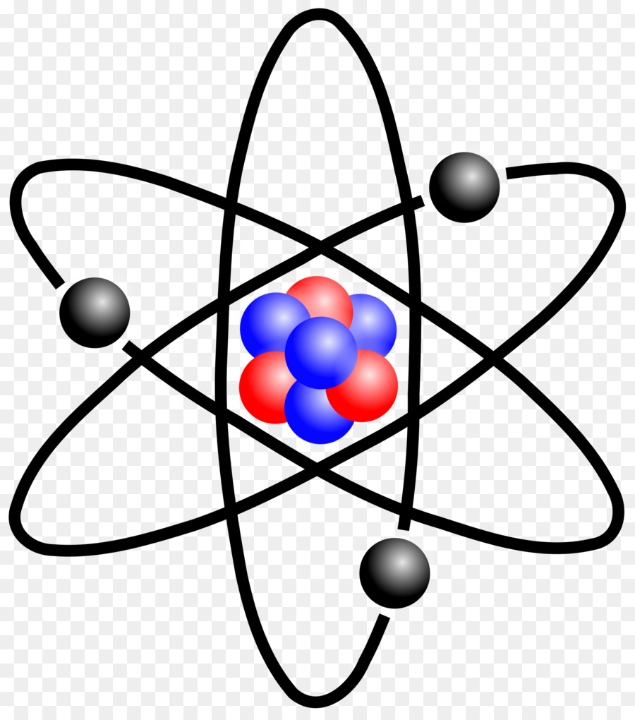 Lithium neutron mass number. Atom clipart hydrogen atom