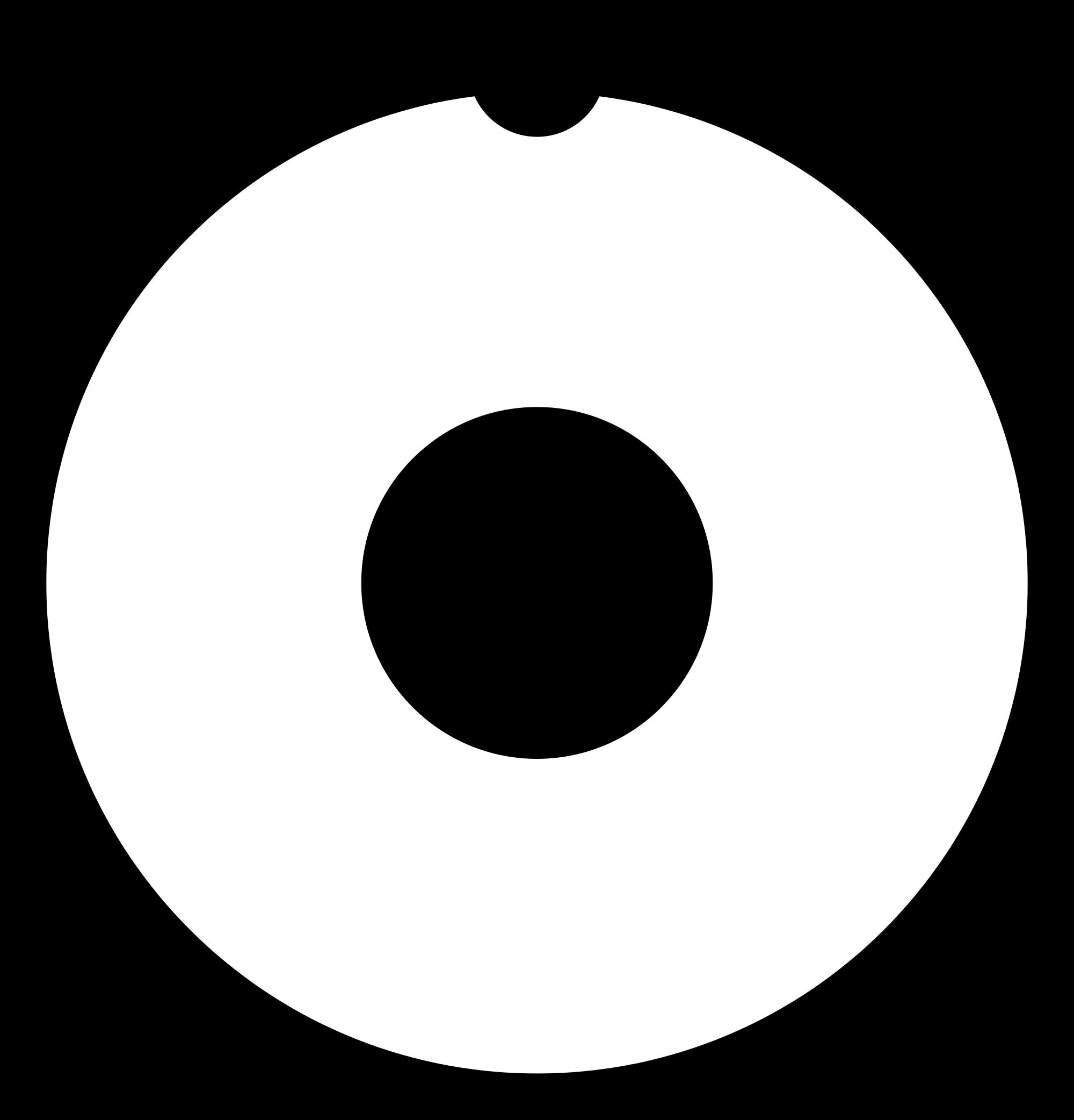 Atom clipart hydrogen atom. File dr manhattan symbol