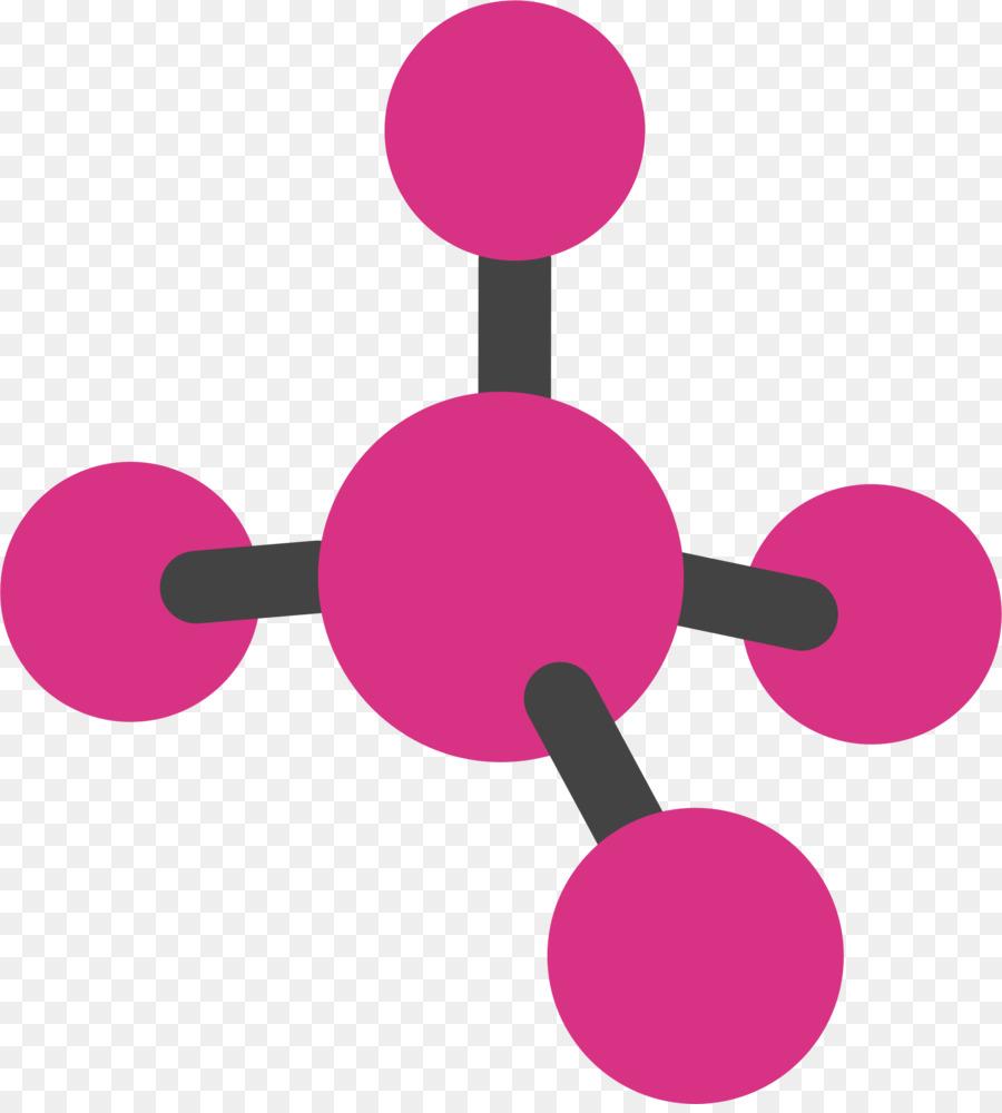 Molecule atom compound clip. Chemicals clipart organic chemistry