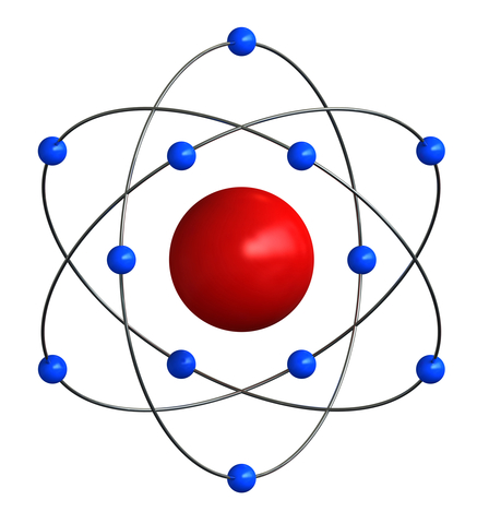 Atom clipart neutron. Atoms electrons protons and