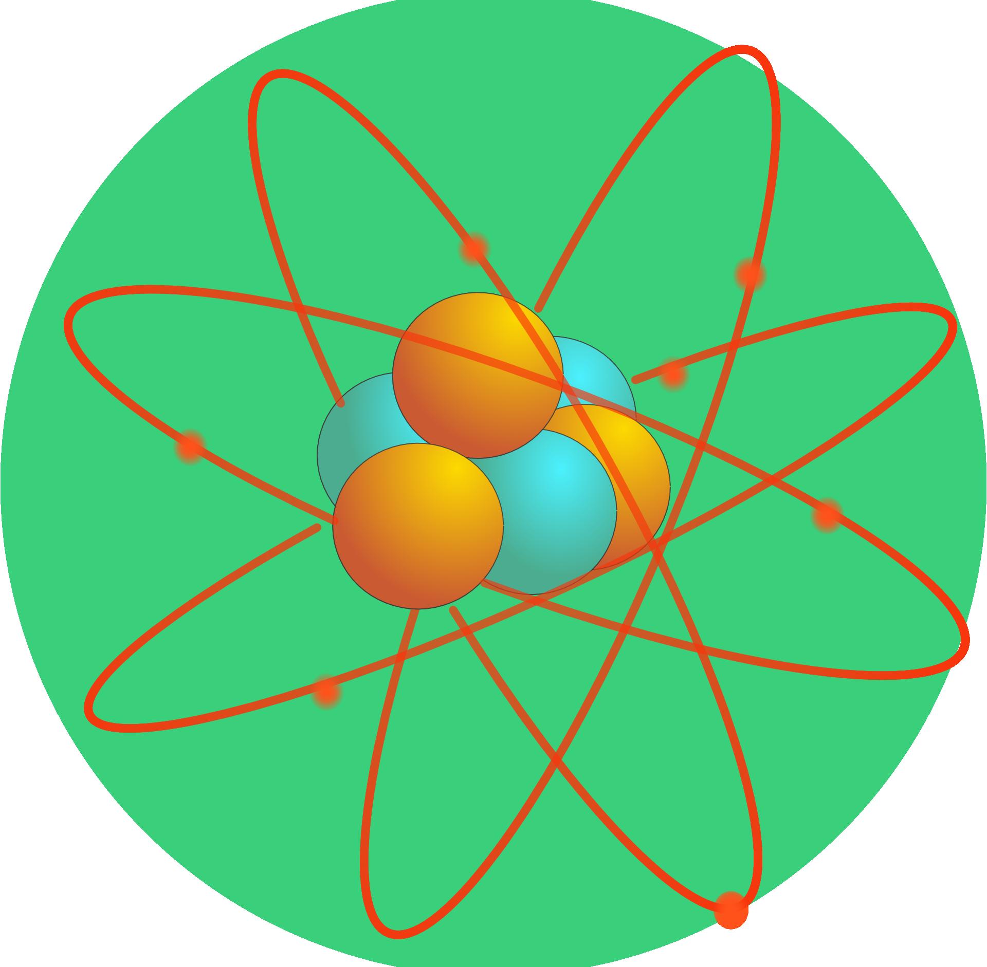 Our. Energy clipart atom model
