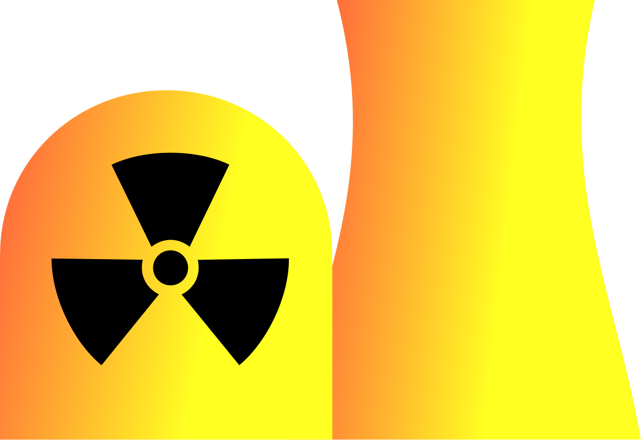 File nuclear plant svg. Coal clipart coal power