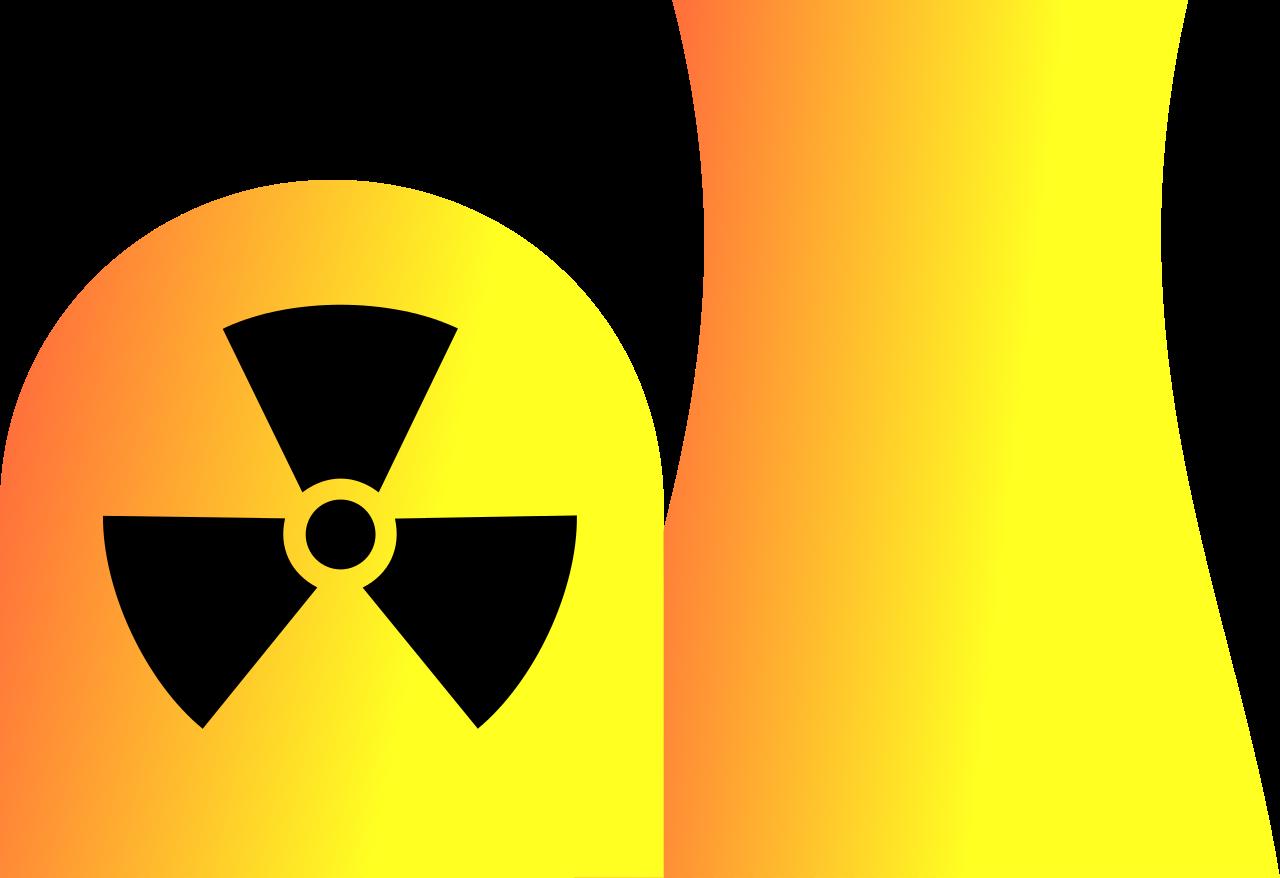 File nuclear power plant. Energy clipart atom