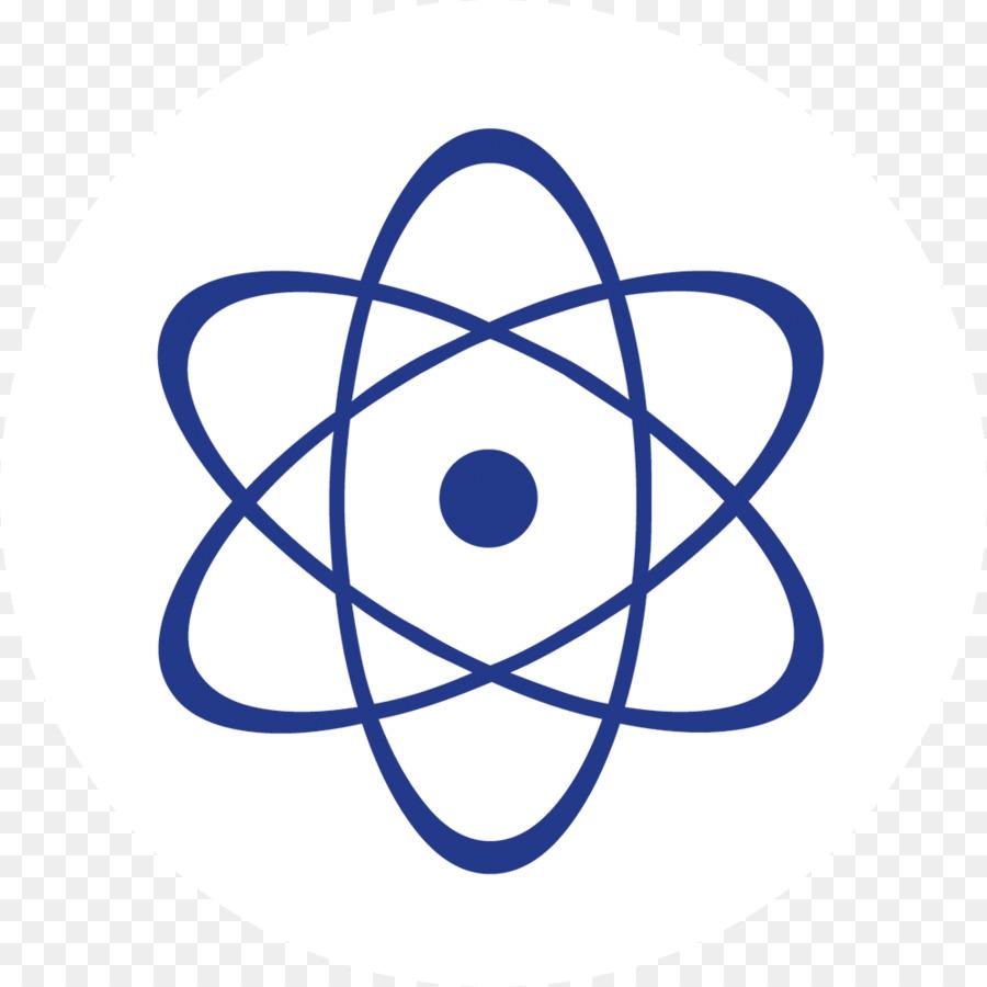 Atom clipart nucleus. Atomic cell clip art