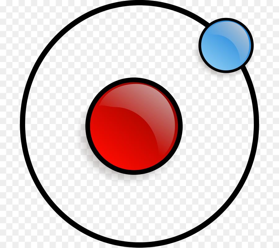 Particle physics electron atomic. Atom clipart nucleus