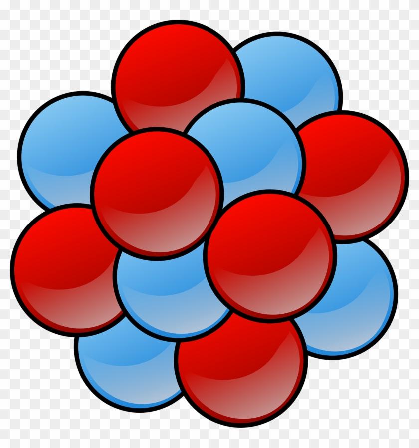 Atom clipart nucleus. Clip art of an