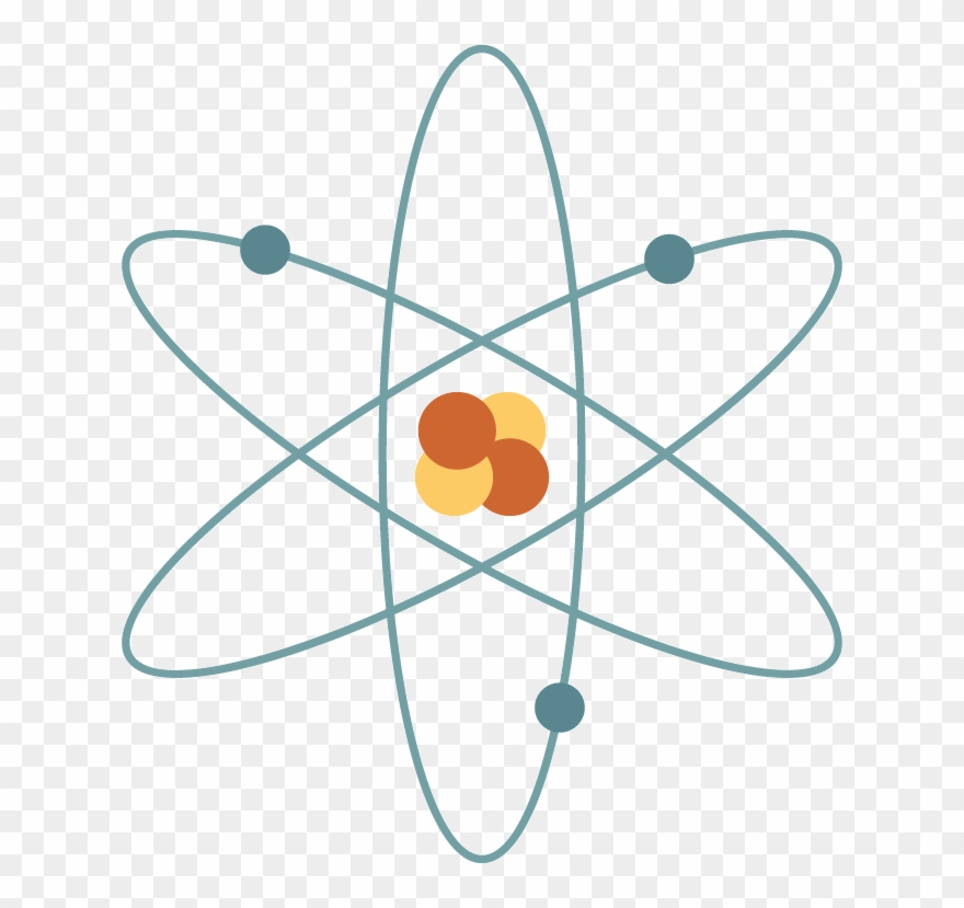 Atom clipart orange. Simple pinclipart