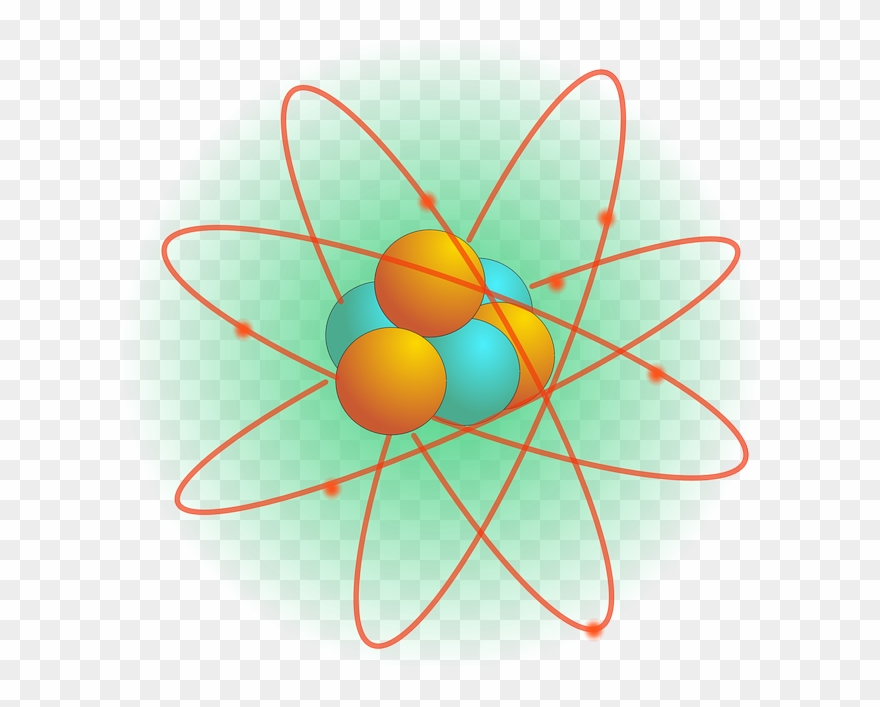 X science things pinclipart. Atom clipart orange