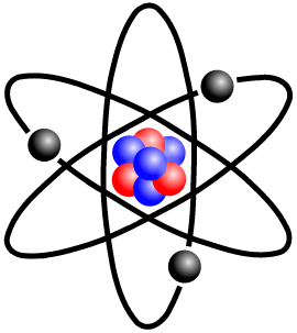 What are photons universe. Atom clipart photon