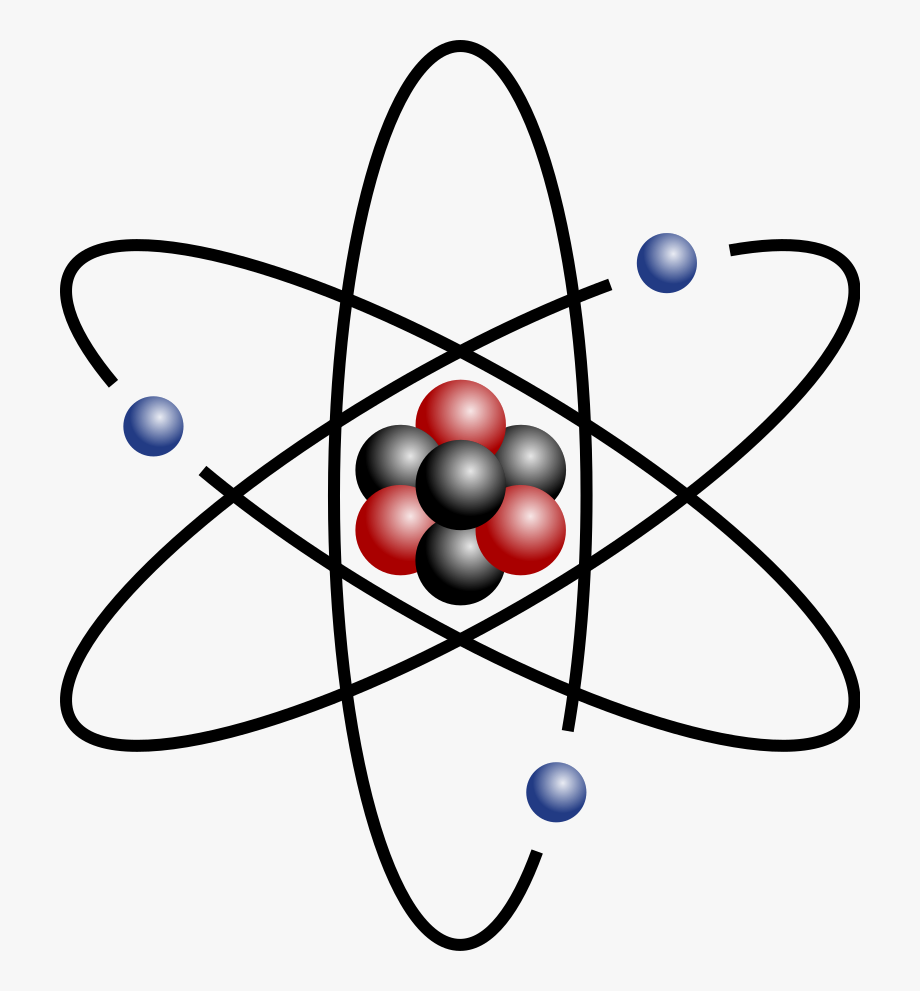 Atom clipart physical science. Transparent picture easy to