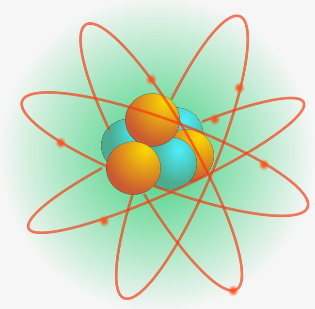Atom clipart physical science. Atomic motion molecular png