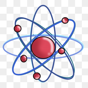 Physics png vector psd. Atom clipart physical science