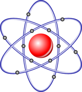 Nucleus electrons clip art. Atom clipart physics