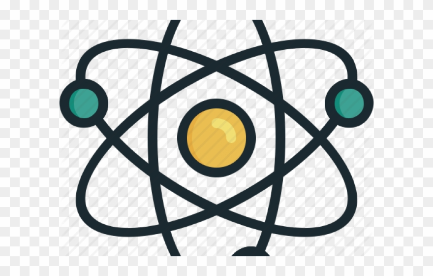 Atom clipart physics. Nuclear molecule png