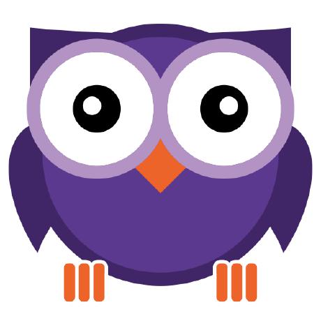 Elm test . Atom clipart purple
