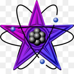 Atom clipart purple. Laboratory glassware png and