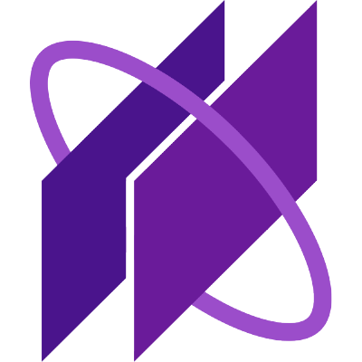What is the name. Atom clipart purple