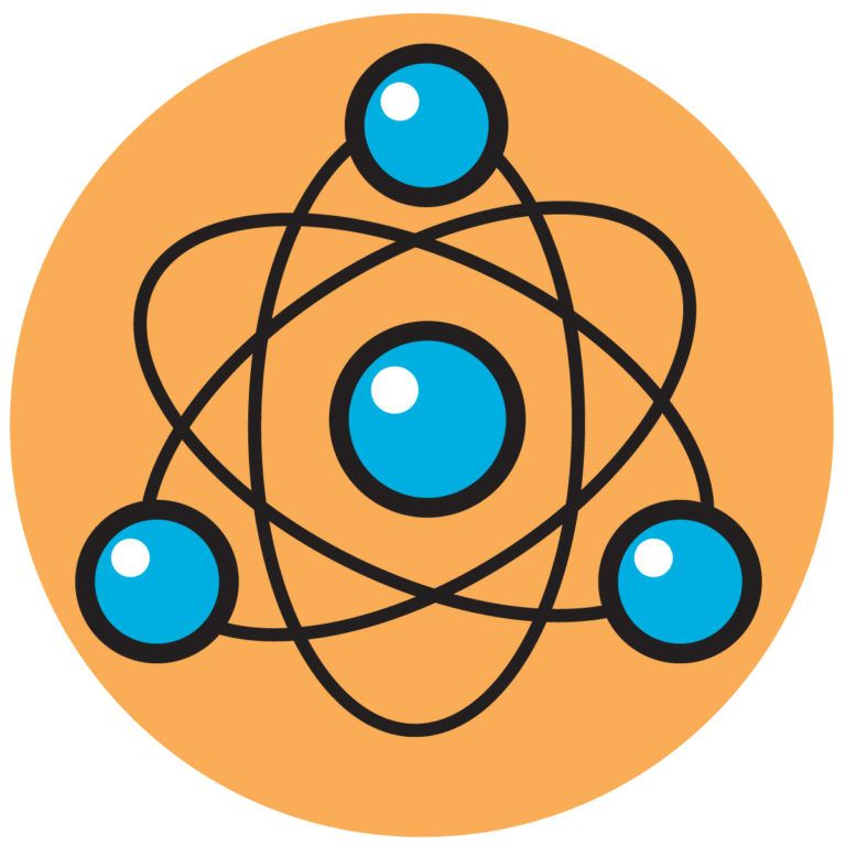 Of images clip art. Atom clipart science