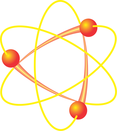 Atoms molecules png html. Atom clipart science