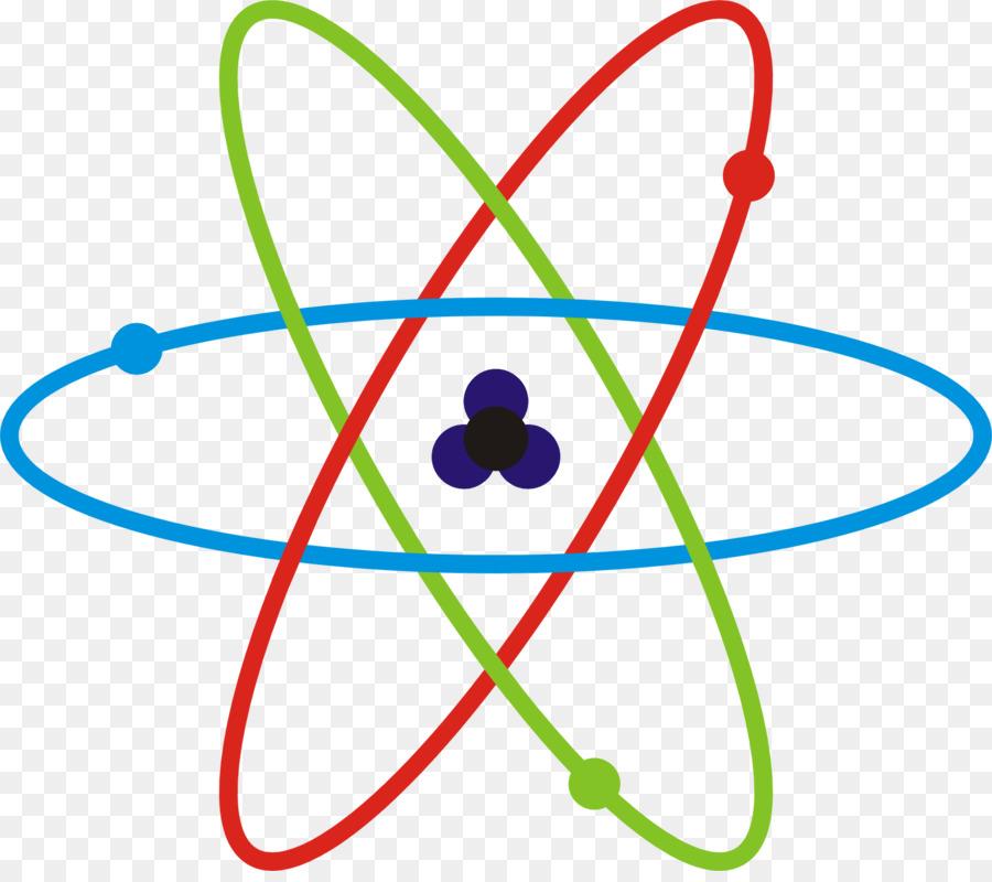 Science quiz question chemistry. Atom clipart transparent background