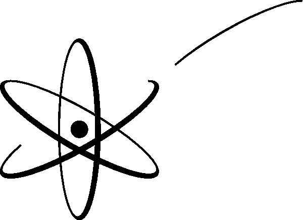 Atom clipart vector. Clip art at clker