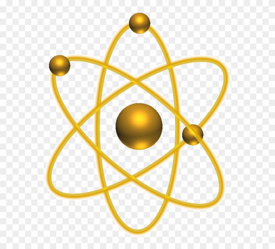 Atom clipart yellow. Transparent jpg royalty free