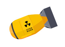 Search results for clip. Atom clipart yellow