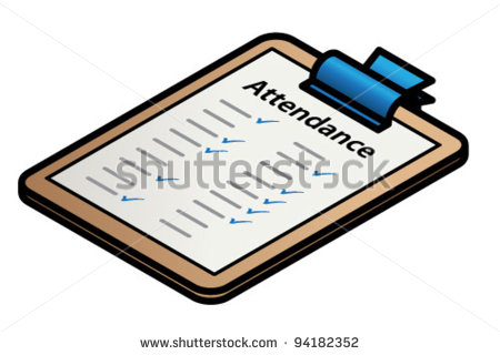 Attendance clipart. Free download best
