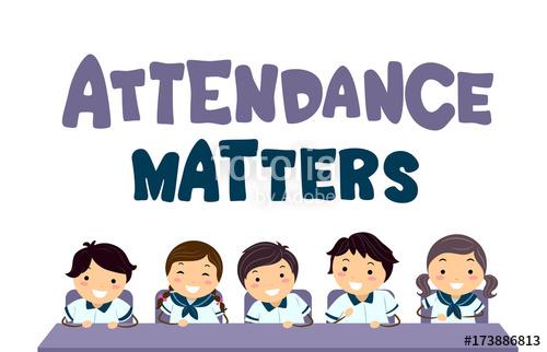 Attendance clipart animated. Stickman kids matters illustration