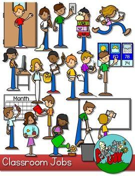 Caboose clipart classroom attendance. Jobs clip art board