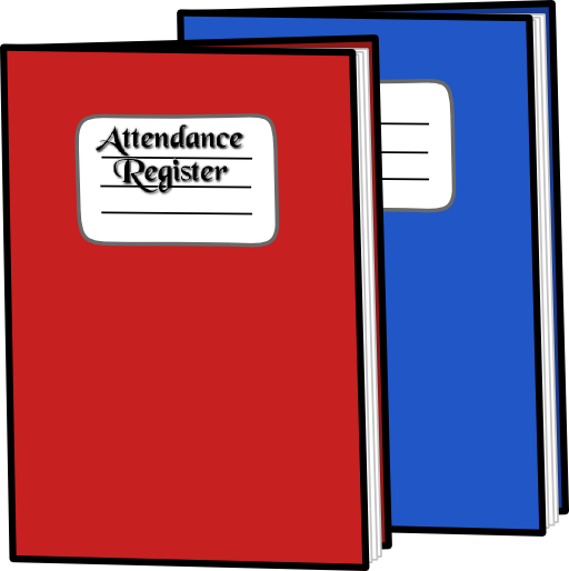 Corporate laws register format. Attendance clipart attendance record