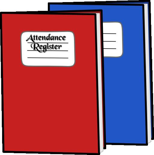 . Attendance clipart attendance sheet