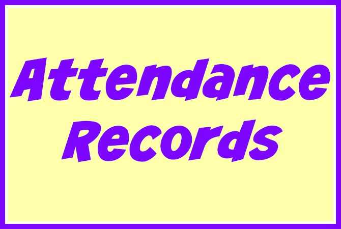 Free daycare forms and. Attendance clipart attendance sheet