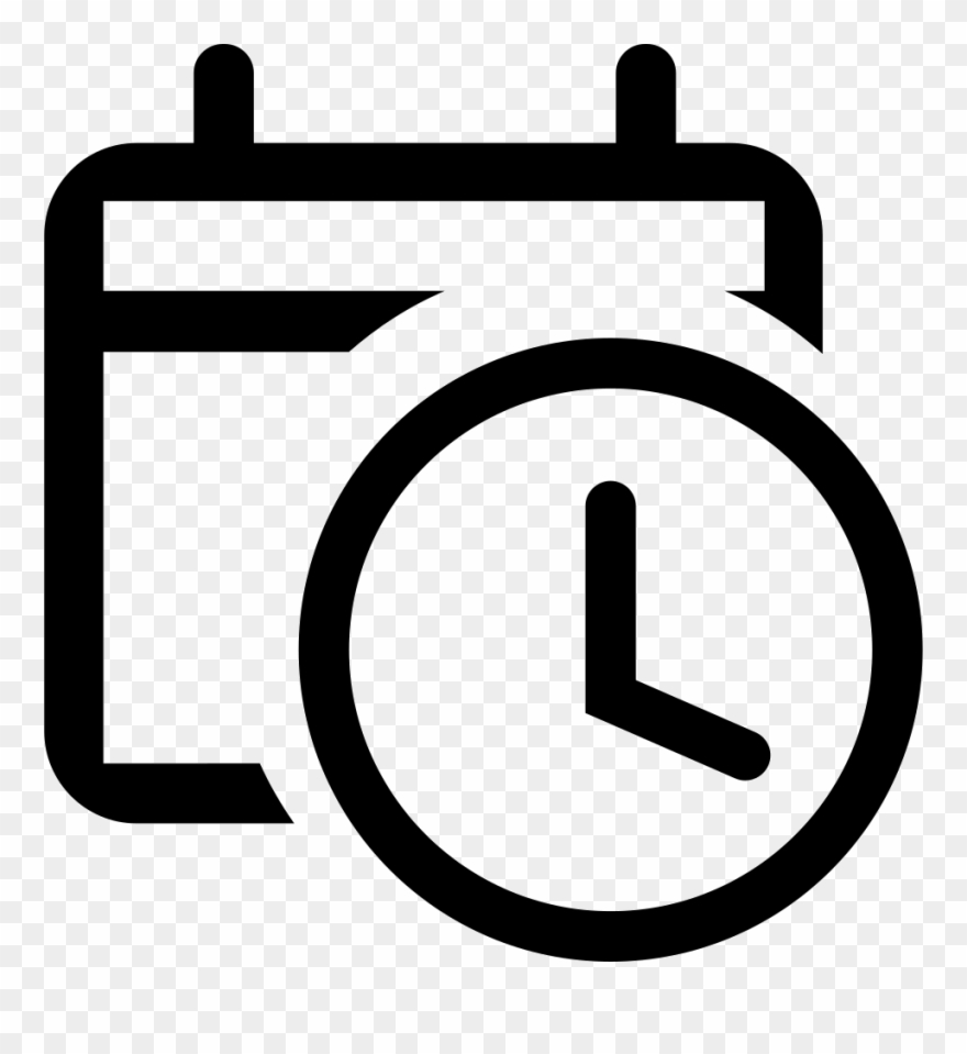 Png file icon for. Attendance clipart black and white