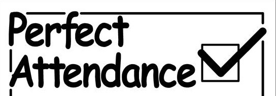 Attendance clipart black and white. Letters example with regard